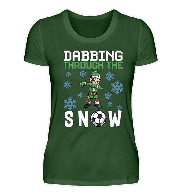 Weihnachtssprüche De.Dabbing Through The Snow Fußball Elf Sport Frohe Weihnachten Lustige