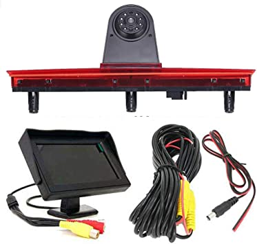 4 3 Zoll Monitor Hd Rückfahrsystem Rückfahrkamera Im Elektronik