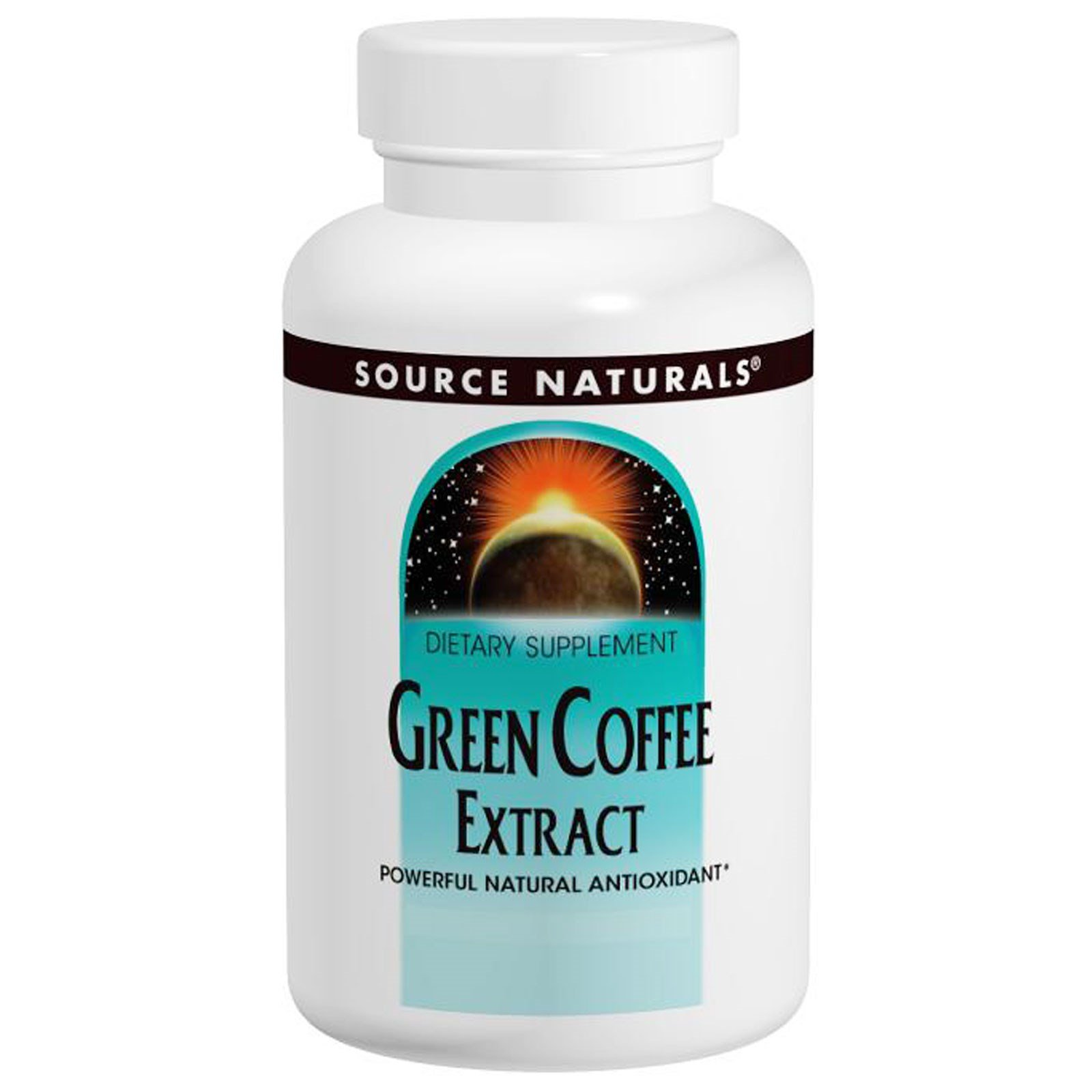 Source Naturals, Green Coffee Extract, 500 mg, 60 Tablets - 3PC