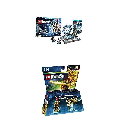 LEGO - Starter Pack Dimensions (Wii U) + LEGO Dimensions ...