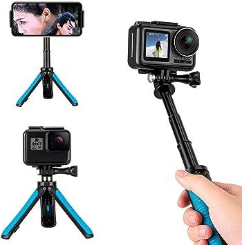 Novel Extendable 3 Way Handheld Stick Monopod Folding Holder for GoPro Hero 7 6
