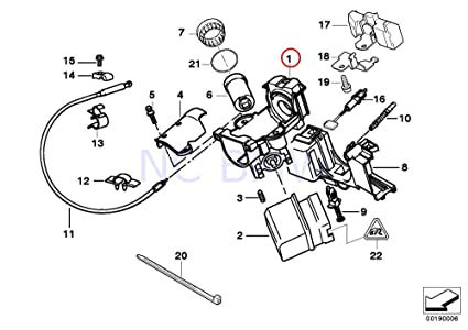Amazon Com Bmw Genuine Steering Lock Automotive