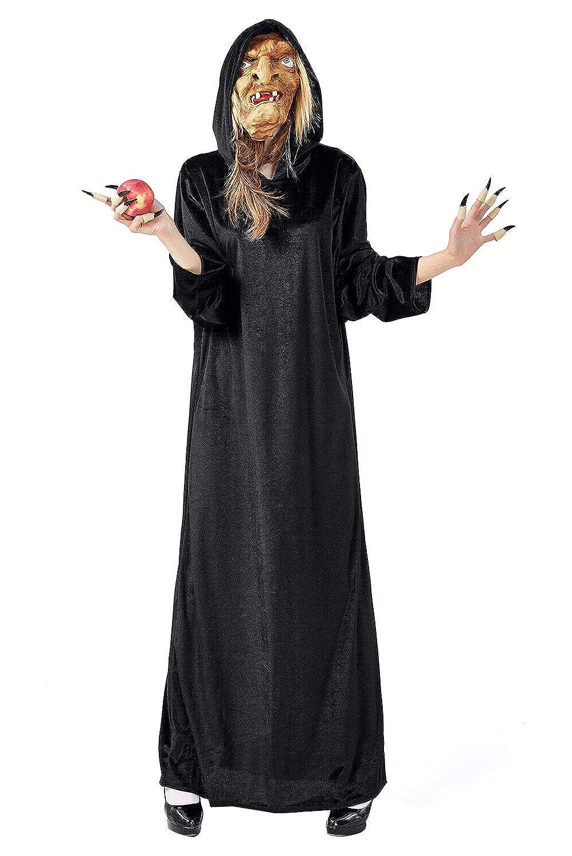 Capa de bruja Disfraz de mago adulto Mascara fea con clavo ...