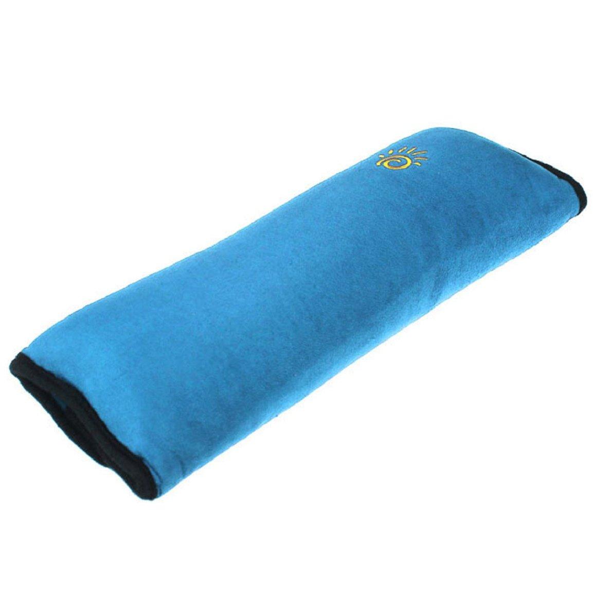 Malloom® 2015 nuevo Asiento de coche cinturón hombro cojín reposacabezas almohada para dormir para niños almohada cervical (azul (blue)) Malloom®