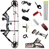 Archquick Compound Bow Hunting Archery Bow Kit Sport Shooting Target Arrow 30-60lbs RH