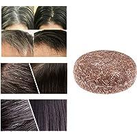 Organic Grey Reverse Shampoo Bar - Essence-Hair Darkening Shampoo-Soap, voor wit haar, droog haar hun haarkwaliteit (1…