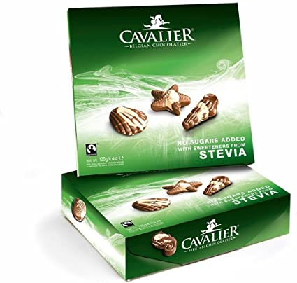 Cavalier Stevia mar conchas 125 g: Amazon.es: Alimentación y bebidas