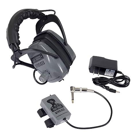 Amazon.com: Gray Ghost Wireless Headphones for Minelab Metal Detectors: Garden & Outdoor