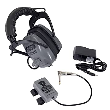 Amazon.com: Gray Ghost Wireless Headphones for Minelab Metal Detectors: Garden & Outdoor