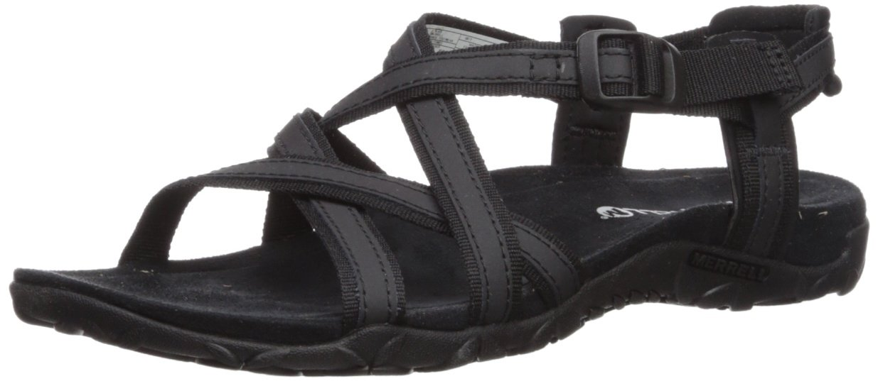 Merrell Women's Terran Ari Lattice Sport Sandal B072Q1GWKZ 11 B(M) US|Black