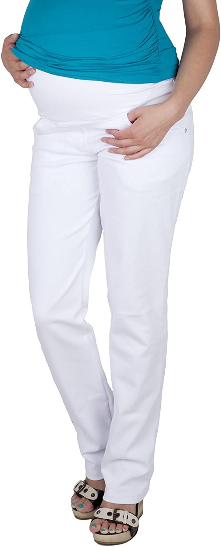 Premaman 9036 Mija Pantaloni comodi Jeans alta qualit