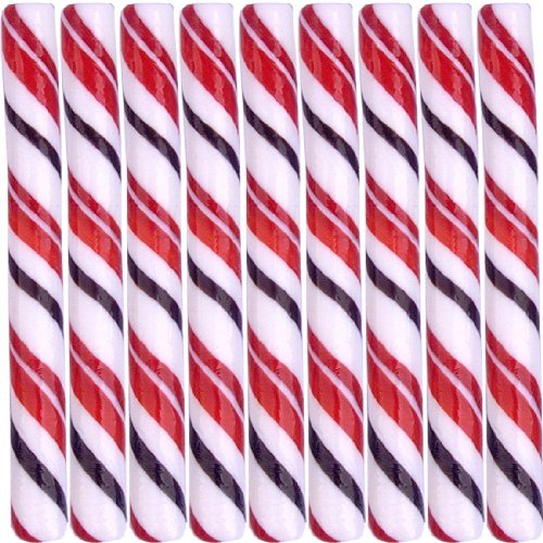 Kencraft Candy Sticks - Handcrafted Circus Candy Sticks Cherry Cola (7.5