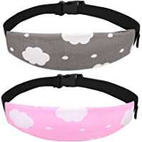 Accmor Baby Carseat Head Support Band Strap 2 Pack for Carseats Stroller Neck Relief Head Strap for Toddler Child Kids…