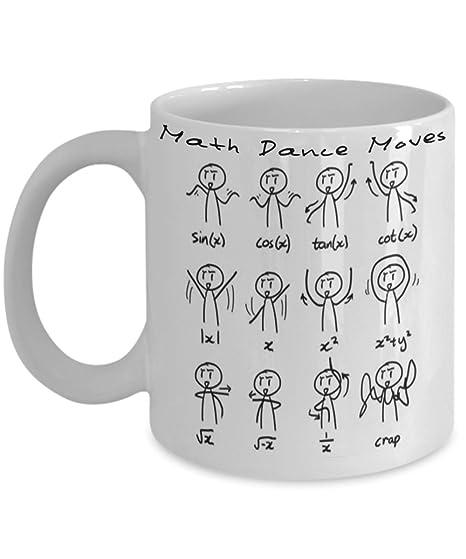 Gifts Teacher Related15oz Dance Moves Themed MugGraph Math Geek 54AqR3cjL
