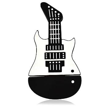 Tienda 818 no1150003 USB Stick Instrumento Musical Guitarra eléctrica 3d Negro negro negro 128 gb: Amazon.es: Informática