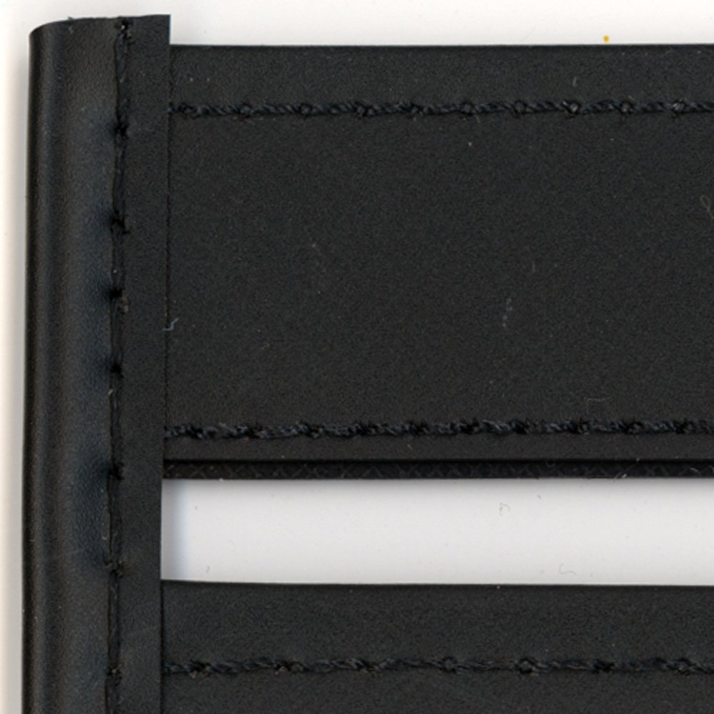 StoreSMART - Rigid Sewn Vinyl Plastic Pockets - Black - 10 Pack - 12'' x 18'' - Open Short Side - T85216S_-BK10 by StoreSMART