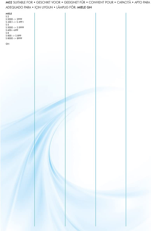 EasyClean EC-.U04 Sac dAspirateur AEG AFK Princess Tristar 6,4 x 16,5 x 23,5 cm