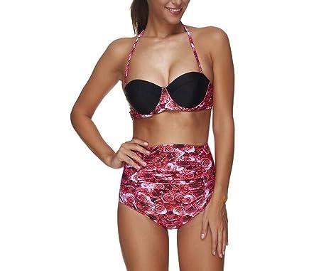 XIAOXUE Tankini Traje De Baño Bikinis Trajes De Baño 2 ...
