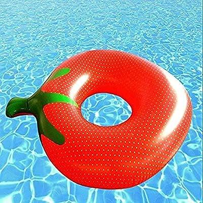 BRRFS Tomate Piscina Hinchable Piscina Piscina Lifebuoy Seguridad ...