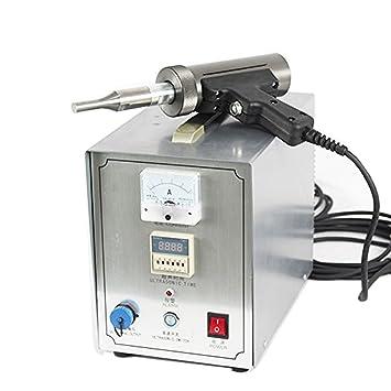 HandHeld Ultrasonic Waterproof Plate Welding Machine Tunnel Plastic Ultrasonic Spot Welder (110V)