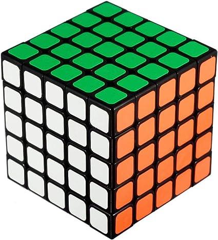 Starboy Shengshou Speed Cube Puzzle Black Base (5x5)
