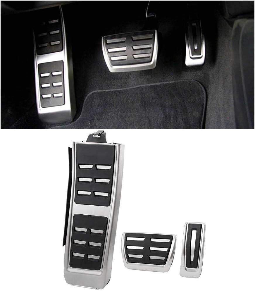 4pcs//Set Footrest Pedaliere Pedali Deoration per A4 S4 B8 A4L A5 S5 Q5 SQ5 8R S5 A6 A6L A8 S7 S8 trasmissione manuale MT