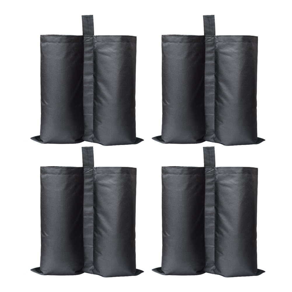 Canopy Weight Bags Leg Weights 4-Pack Sand Bag for Pop Up Canopy Tent Industrial Grade Heavy Duty