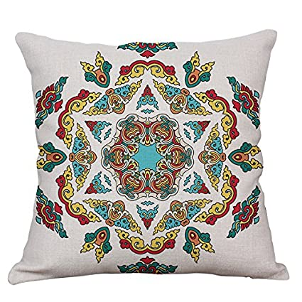 Amazon.com: LTL - Juego de cojines geométricos y abstractos ...