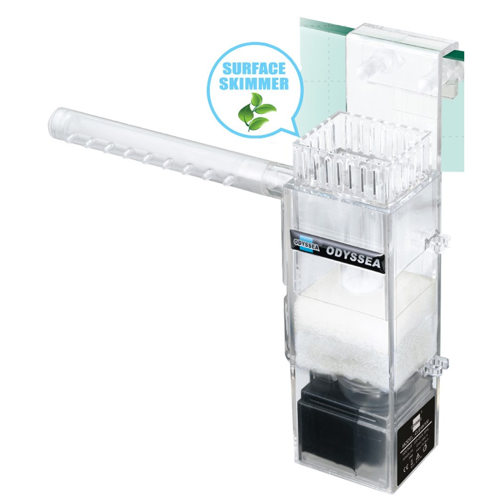 Odyssea Clean 100 Surface Skimmer Aquarium Filter 450L Plant Internal