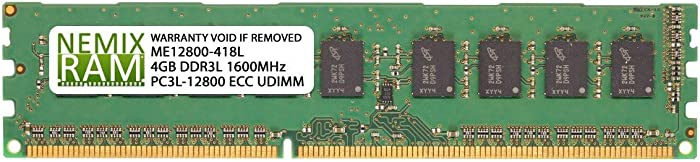 SNPYWJTRC/4G A7303660 4GB for DELL PowerEdge R220 by Nemix Ram