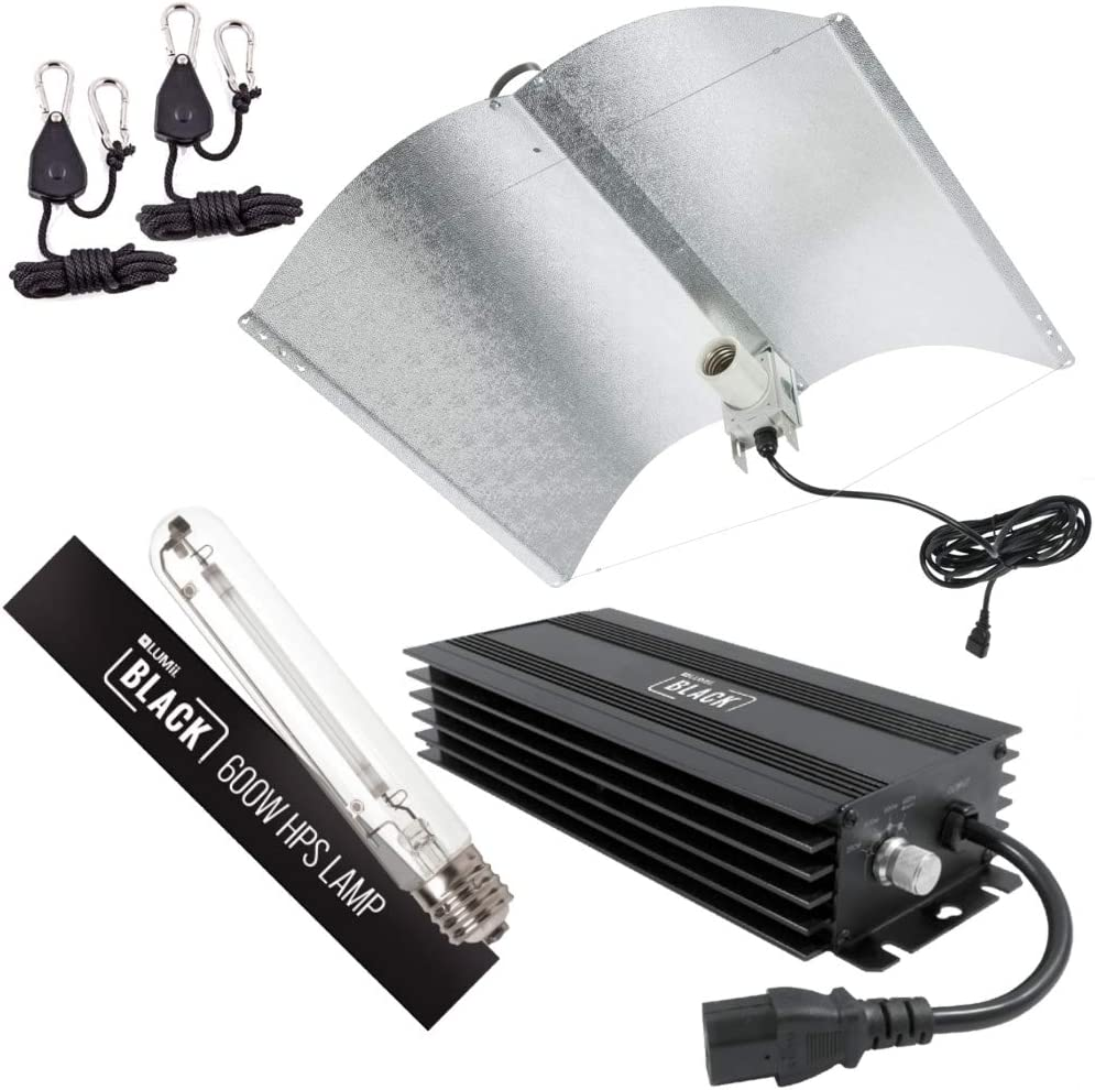 Lumii Hydroponic 600w HPS Magnetic Dimmable Ballast Lamp Bulb Grow Light Kit Set