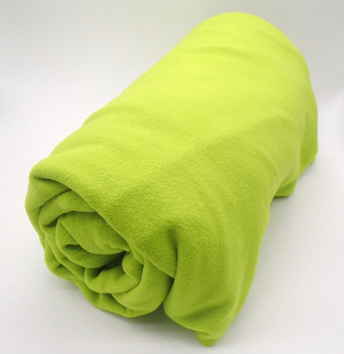 フリース インナー シュラフ 寝袋 封筒型 ブランケット