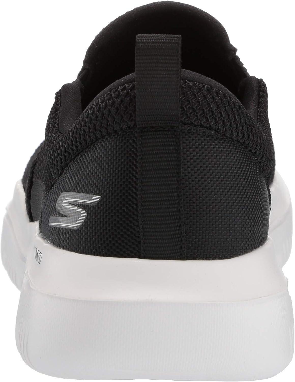 Skechers Men's Go Walk Evolution Ultra-impec Slip On Trainers Black White