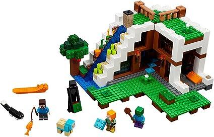 Minecraft The Creeper Custom Lego Mini Figure Zombie Witch Steve Toy minifig