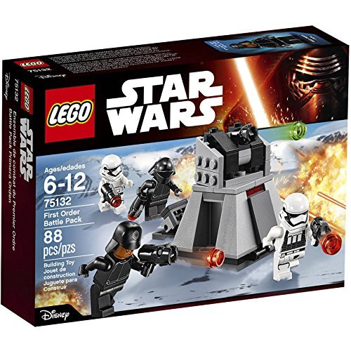 Star Wars TM First Order Battle Pack , Flip open the hatches to access the control center and ammo storage . by LEGO