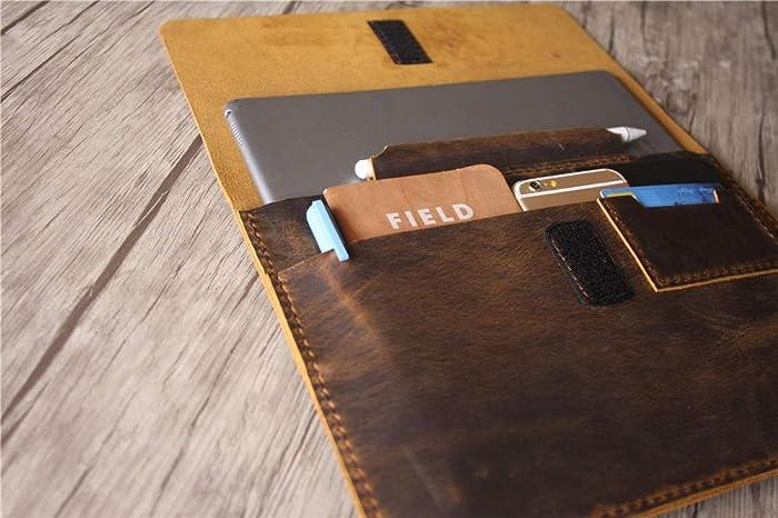 online store 8080a 1572d Leather Macbook Pro 13 inch Case 15 Laptop Bag Mac ... - Amazon.com