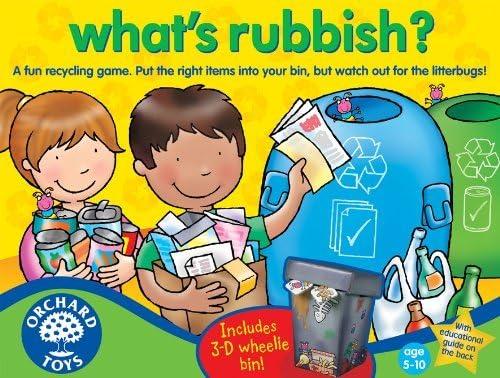 Orchard_Toys Whats Rubbish? - Juego de Mesa (en inglés): Amazon ...