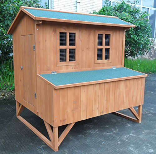 ChickenCoopOutlet-Large-47-Deluxe-Solid-wood-Hen-Chicken-Cage-House-Coop-Huge-w-nesting-box