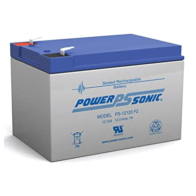 Power Sonic New 12V 12AH Sealed Lead Acid Replacement Battery: Toys & Games
