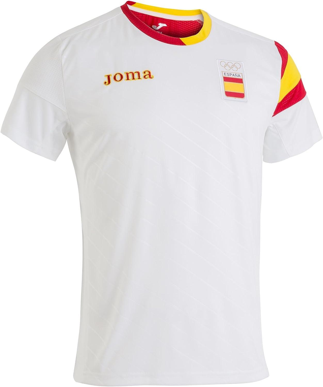 Joma CE.101011.16 Camiseta, Hombre, Blanco, XXL: Amazon.es ...