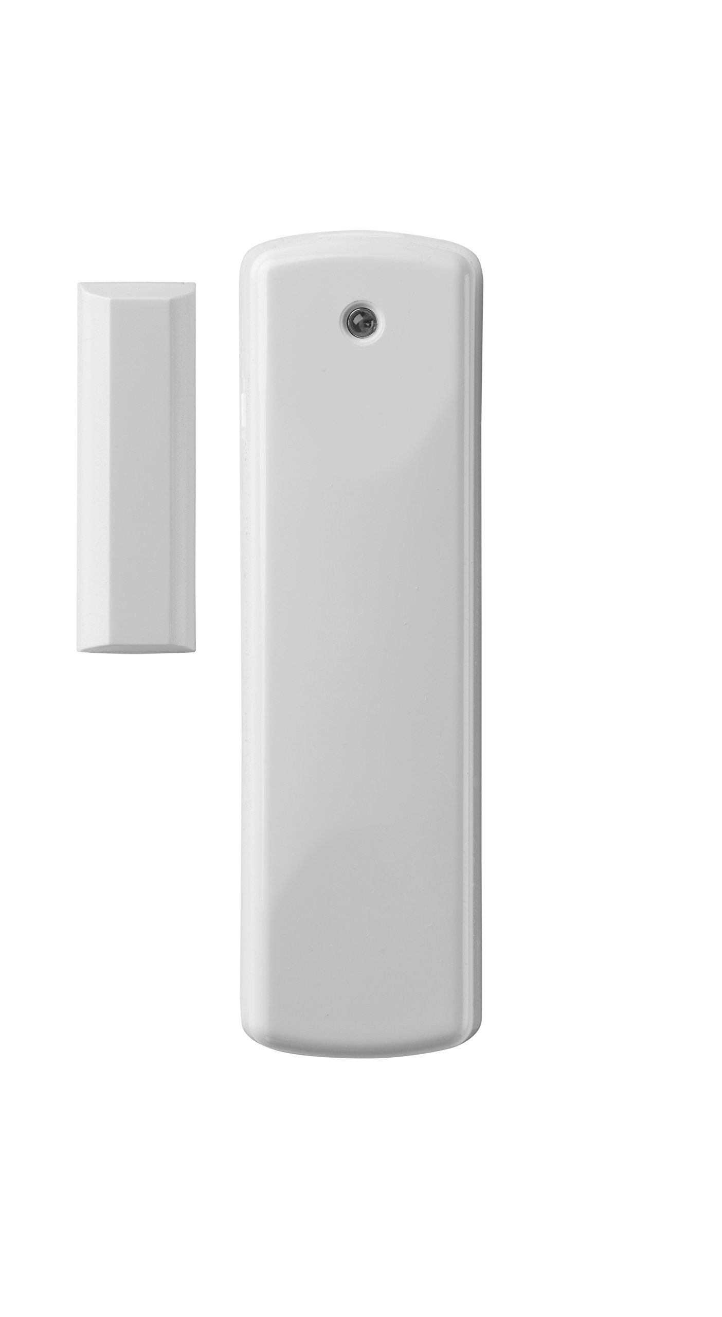 Z-Wave Plus Rare Earth Magnets Door & Window Sensor, White & Brown (DWZWAVE2.5-ECO) by Ecolink