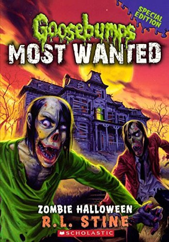 Zombie Halloween (Turtleback School & Library Binding Edition) (Goosebumps: Most Wanted) by R. L. Stine -