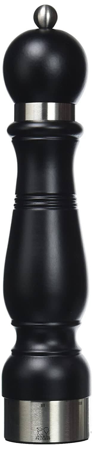 Peugeot Chateauneuf U Select Mat Noir Pepper Mill, 23cm Chomette 20378 Herb & Spice Tools Salt