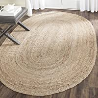 Safavieh Cape Cod Collection CAP252A Hand Woven Natural Jute Area Rug (3' x 5')