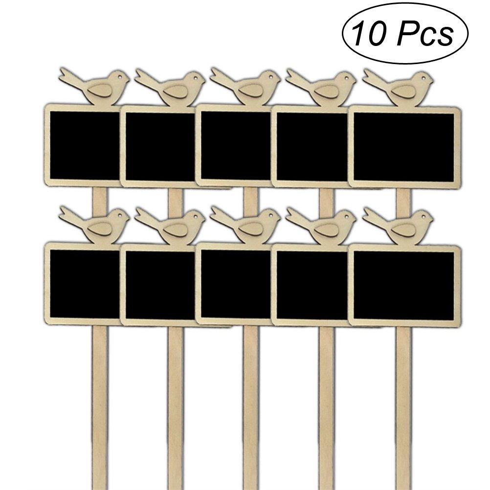 ULTNICE - Etiquetas para Plantas (10 Unidades) Mini Pizarra ...