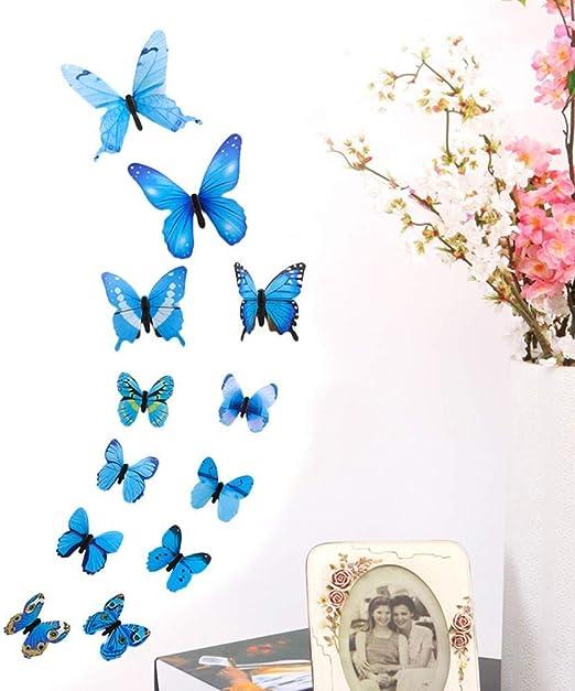 Huge Window Wall sticker Sunflower Nature Butterfly Diy Flower Vinyl Decor 3d Mu