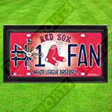 RED SOX MLB CLOCK - BY TAGZ SPORTS