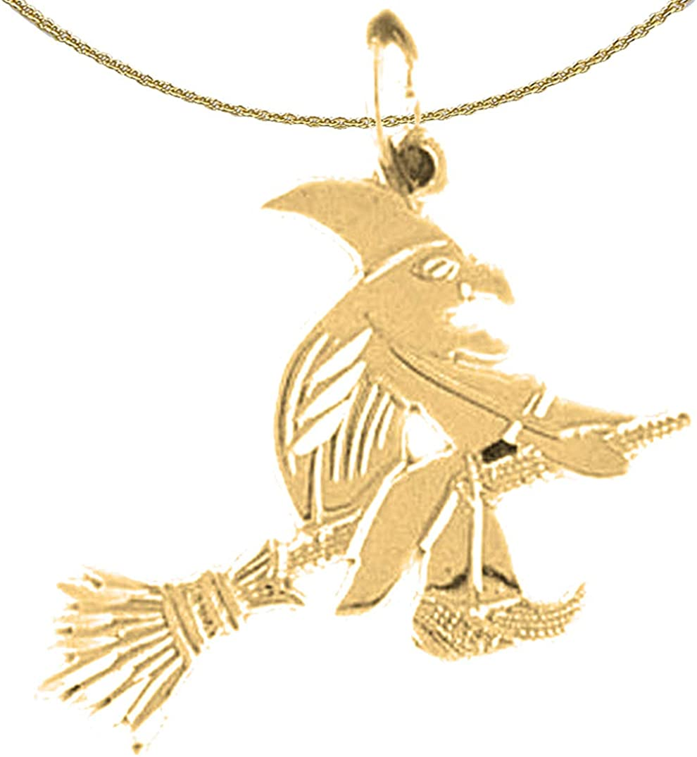 JewelsObsession Sterling Silver 23mm Nefertiti Charm w//Lobster Clasp