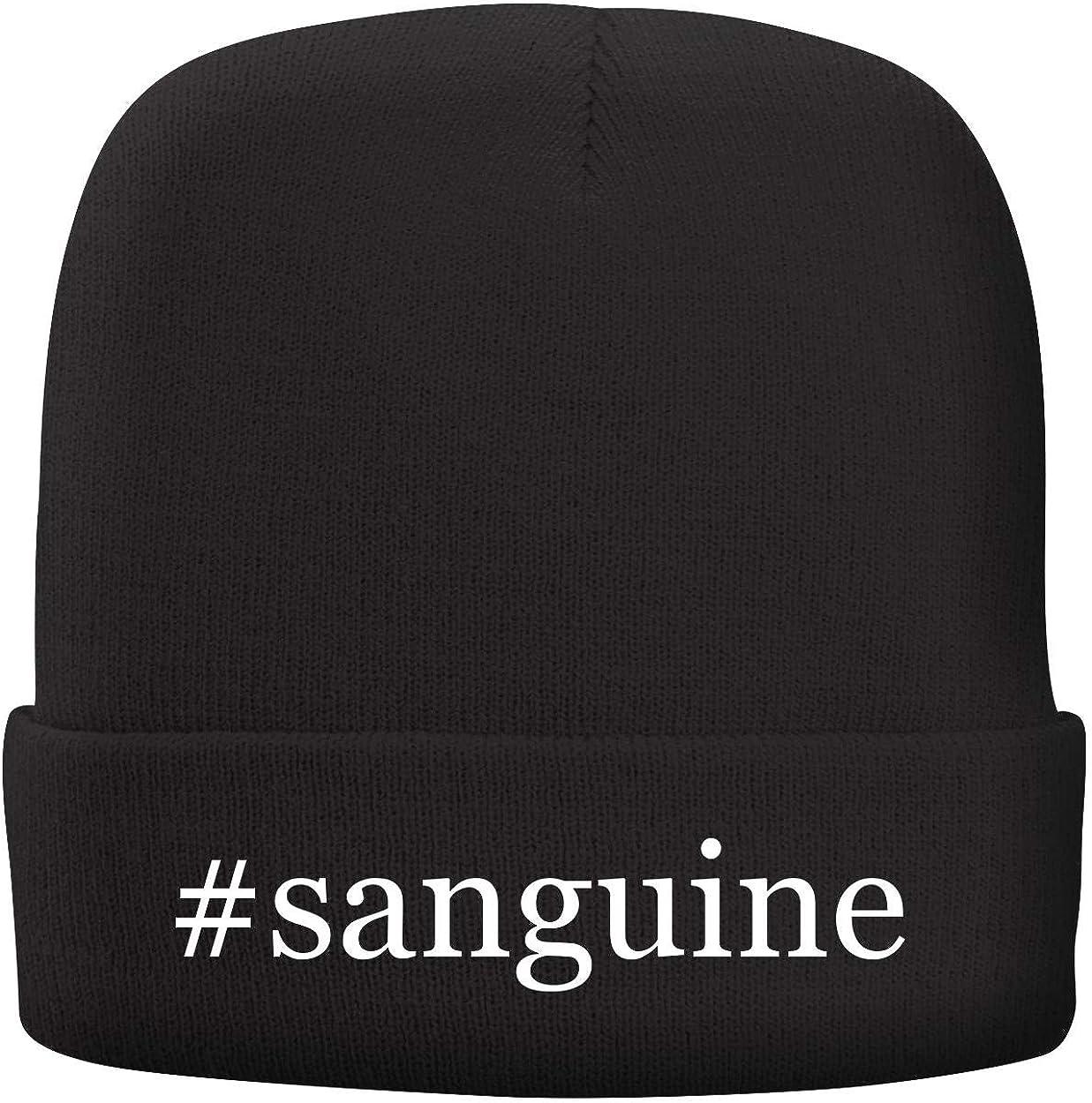 BH Cool Designs #Sanguine Adult Hashtag Comfortable Fleece Lined Beanie