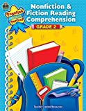 Nonfiction and Fiction Reading Comprehension, Grade 2, Teacher Created Resources Staff, 1420630296